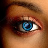 Color Vision Glamour Blue Contact Lenses