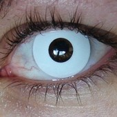 Color Vision White Out Contact Lenses