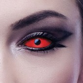Red Full Eye Sclera Contact Lenses