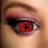 Red Rage Mini Sclera 17mm Contact Lenses