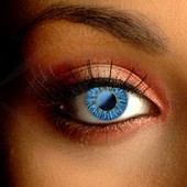 Soft Natural Blue Contact Lenses