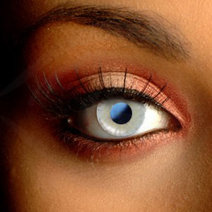 Blue & Yellow Desire Contact Lenses