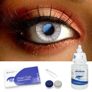 Cyan Shine Contact Lenses Complete Set